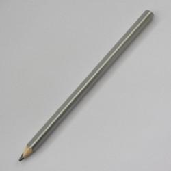 Трехгранный карандаш Стандарт, дмаметр 9 мм, корпус серебро