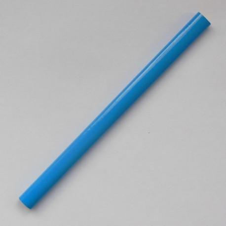 Овальный карандаш Премиум, длина 175 мм, цвет корпуса голубой