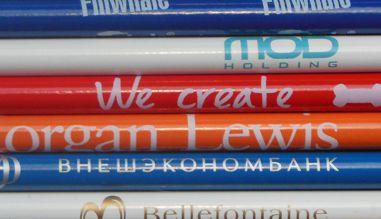 Круговая печать на карандашах